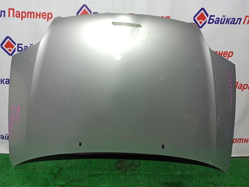 Капот Toyota Corolla Fielder ZZE124G 1ZZ-FE передний
