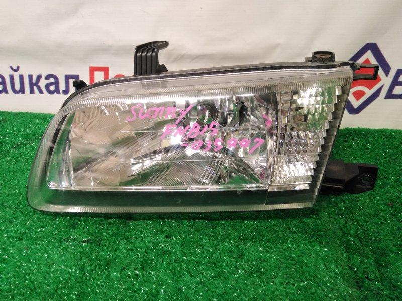 Фара Nissan Sunny FNB15 передняя левая 16-02