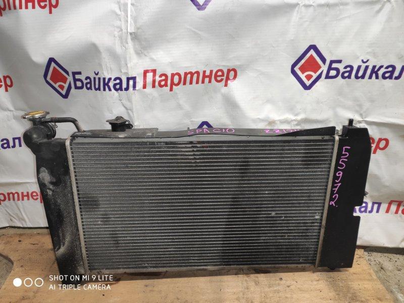 Радиатор двс Toyota Corolla Spacio ZZE124N 1ZZ-FE