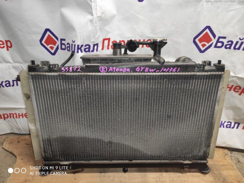 Радиатор двс Mazda Atenza GYEW LF 7468