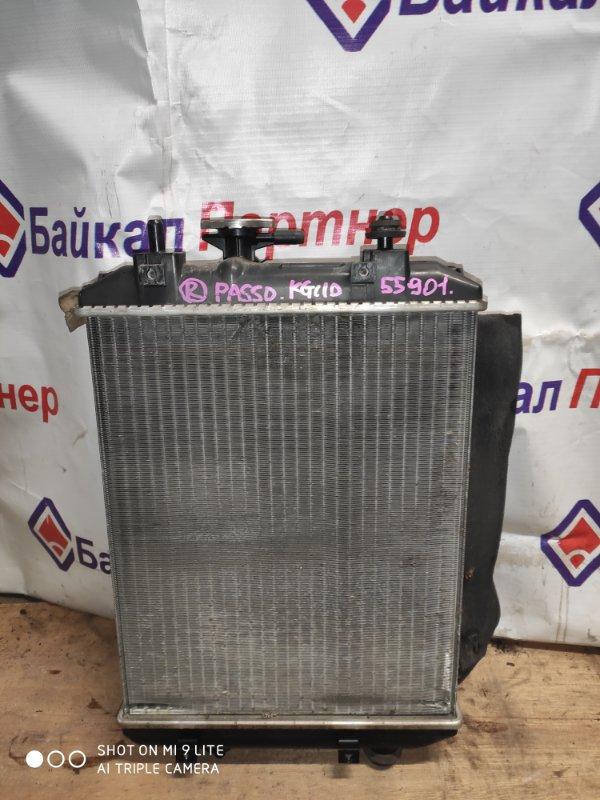 Радиатор двс Toyota Passo KGC10 1KR-FE 7473