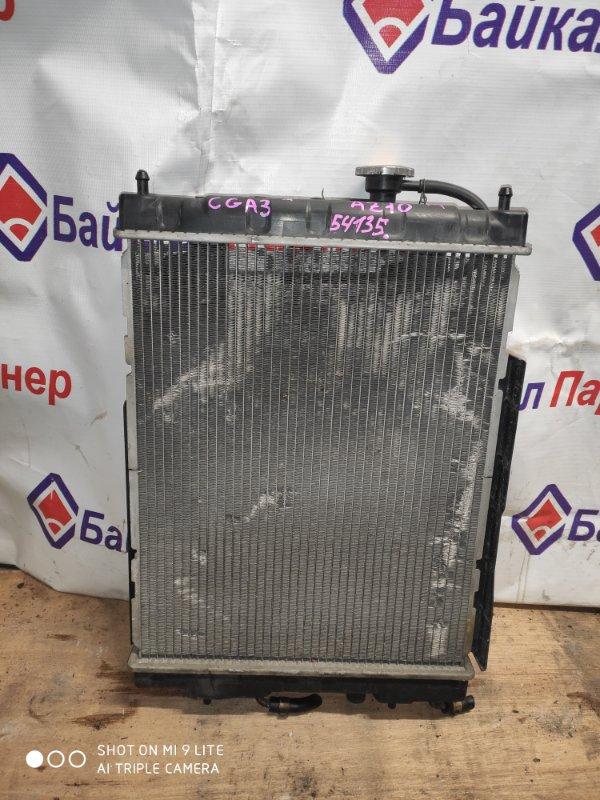 Радиатор двс Nissan Cube AZ10 CGA3