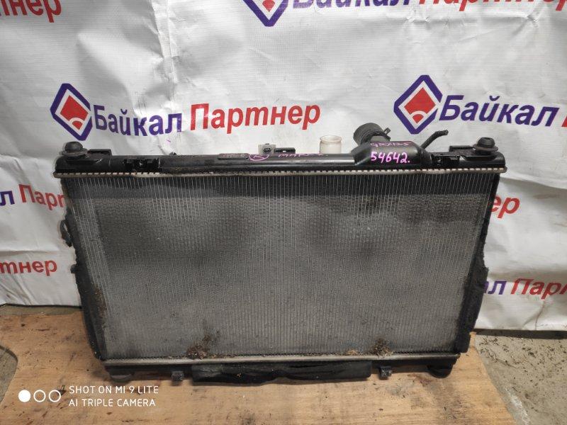 Радиатор двс Toyota Mark X GRX125