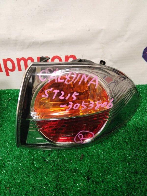Стоп Toyota Caldina ST215G 3S-FE задний правый 21-51