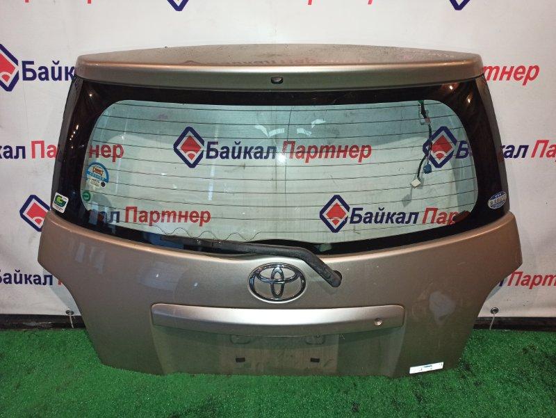 Дверь 5-я Toyota Ist NCP60 2NZ-FE