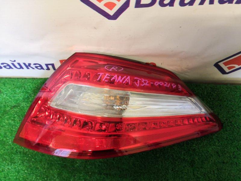 Стоп Nissan Teana J32 VQ25 06.2008 задний правый