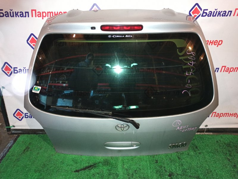 Дверь 5-я Toyota Corolla Spacio AE111N 4A-FE