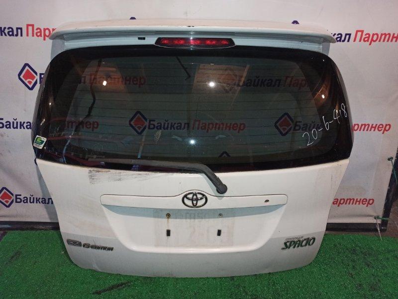 Дверь 5-я Toyota Corolla Spacio NZE121G 1NZ-FE