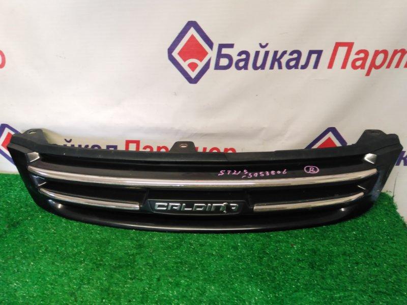 Решетка радиатора Toyota Caldina ST215G 3S-FE 2001 передняя