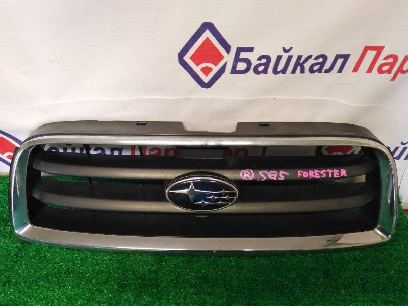 Решетка радиатора Subaru Forester SG5 EJ20 передняя