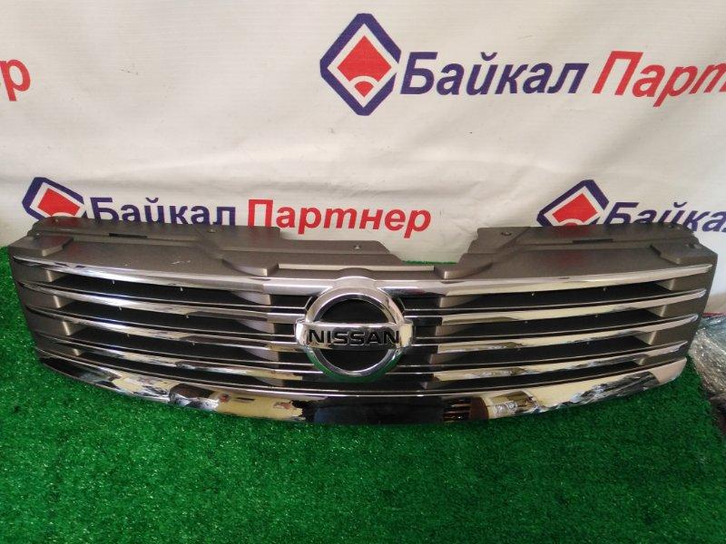 Решетка радиатора Nissan Bluebird Sylphy KG11 2005 передняя
