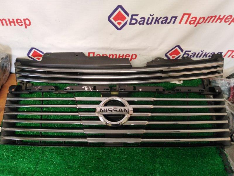 Решетка радиатора Nissan Elgrand NE51 VQ35-DE 2003