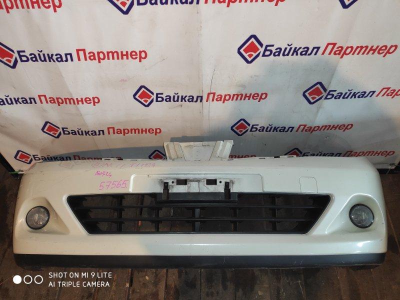 Бампер Nissan Tiida NC11 HR15DE 2008 передний