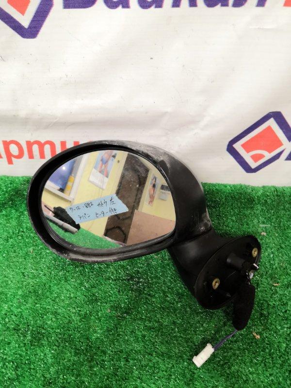 Зеркало Suzuki Alto Lapin HE22S 2011 переднее левое