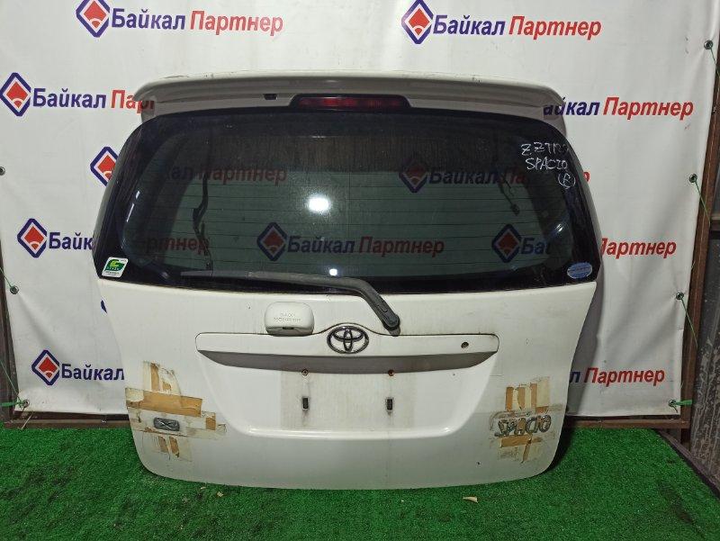 Дверь 5-я Toyota Corolla Spacio ZZE124N задняя