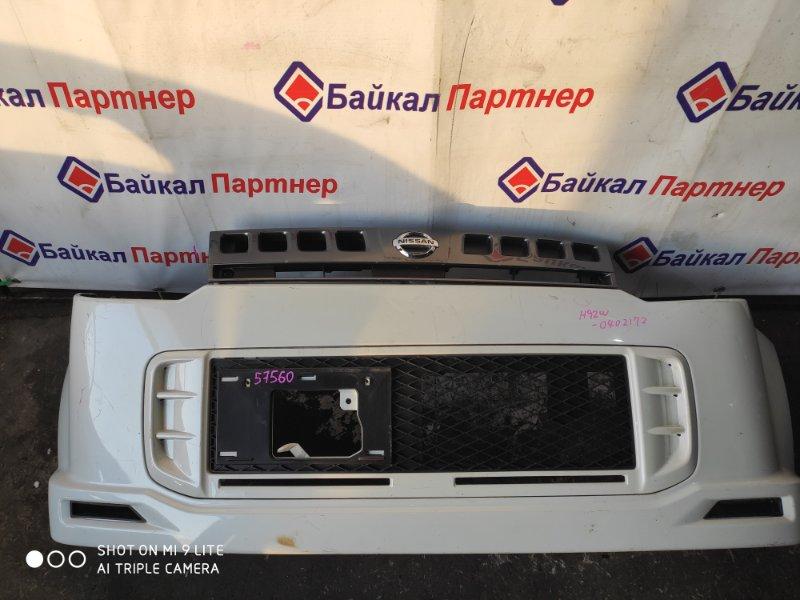 Бампер Nissan Otti H92W передний