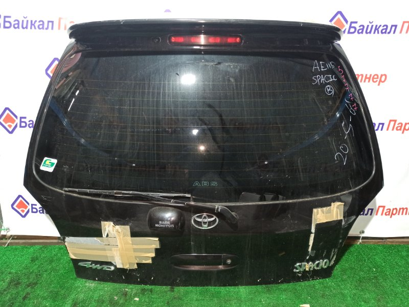 Дверь 5-я Toyota Corolla Spacio AE115N задняя