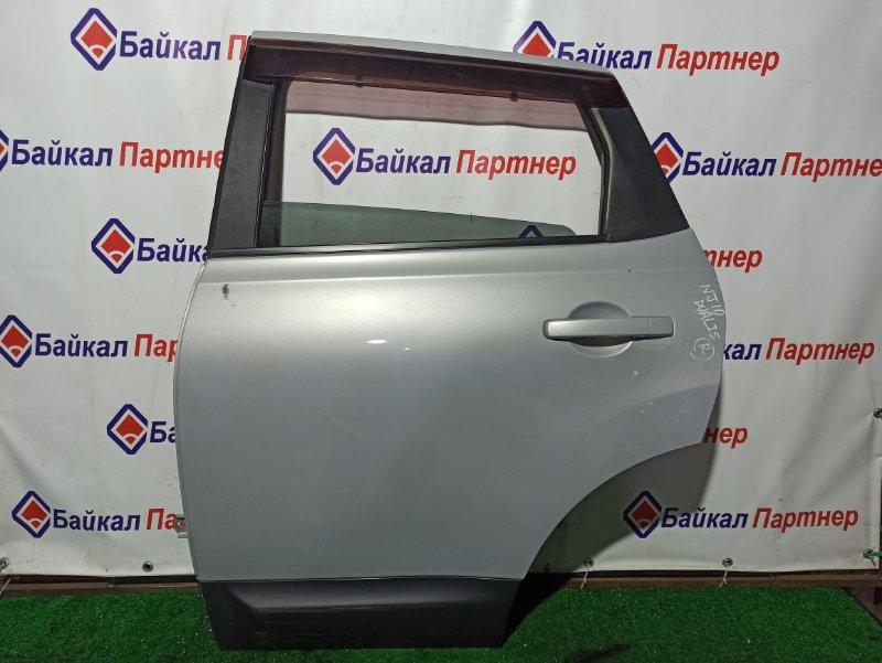 Дверь Nissan Dualis (Qashqai) NJ10 MR20-DE задняя левая