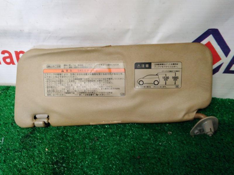 Солнцезащитный козырек Toyota Ist NCP61 1NZ-FE 2002 передний правый