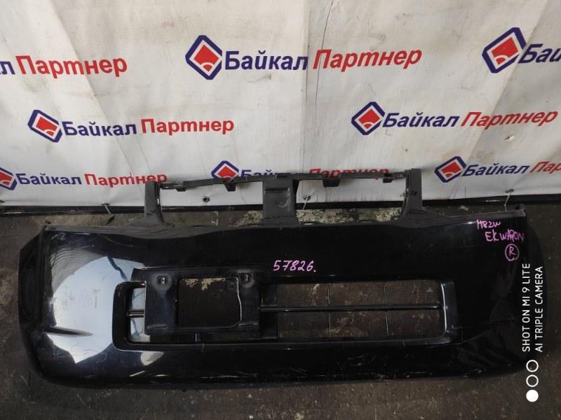Бампер Mitsubishi Ek Wagon H82W 3G83 передний