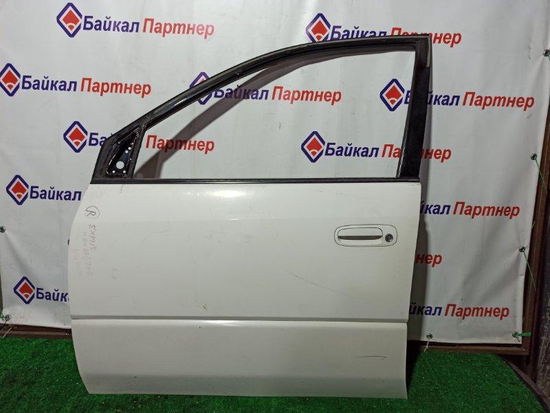 Дверь Toyota Ipsum SXM15G передняя левая