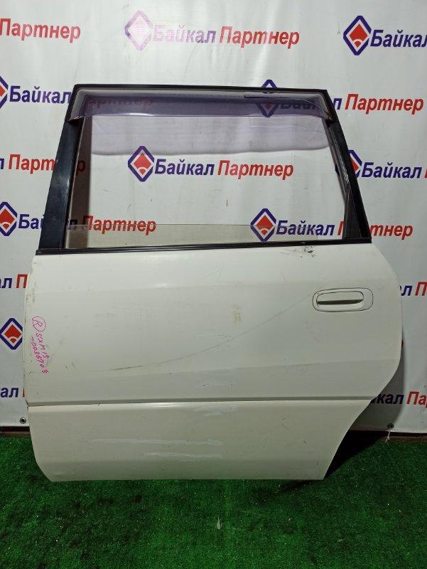 Дверь Toyota Ipsum SXM15G задняя левая