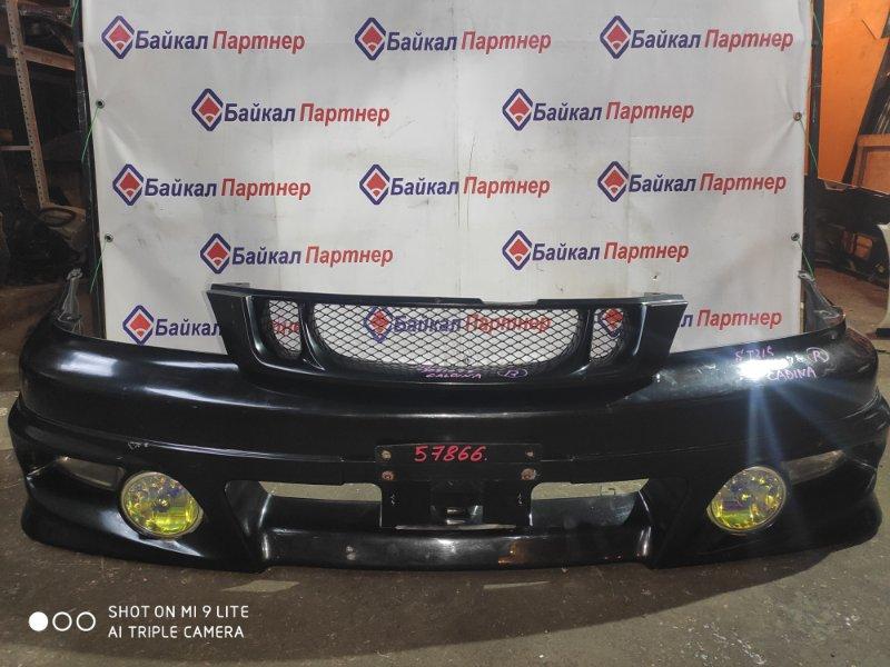 Бампер Toyota Caldina ST215G 3S-FE 2000 передний