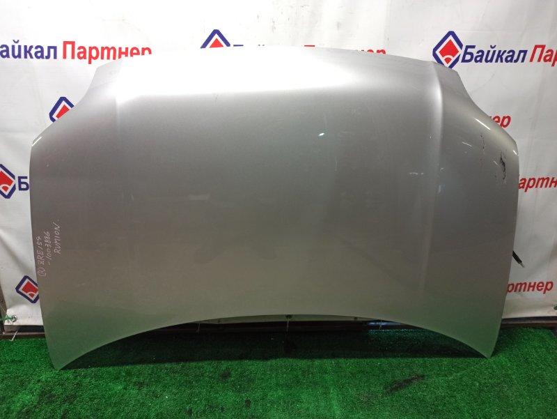 Капот Toyota Corolla Rumion ZRE154N