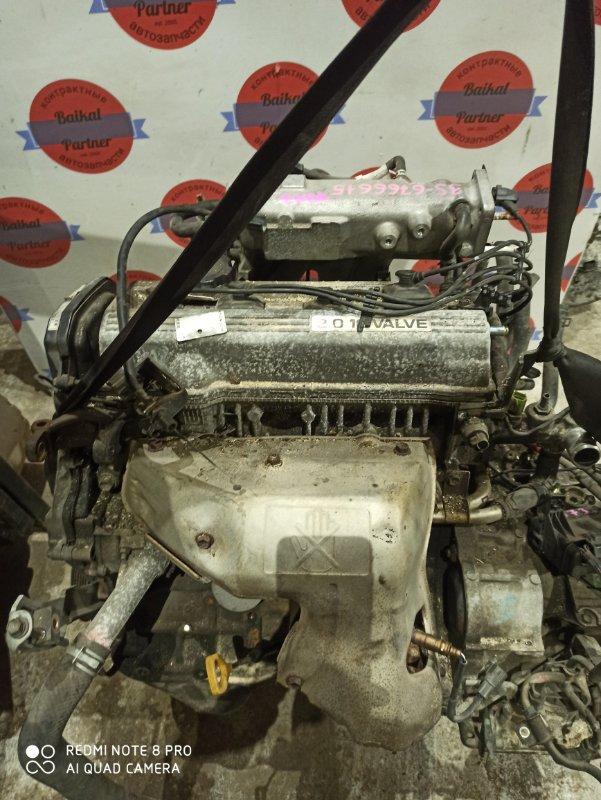 Двигатель Toyota Vista SV43 3S-FE