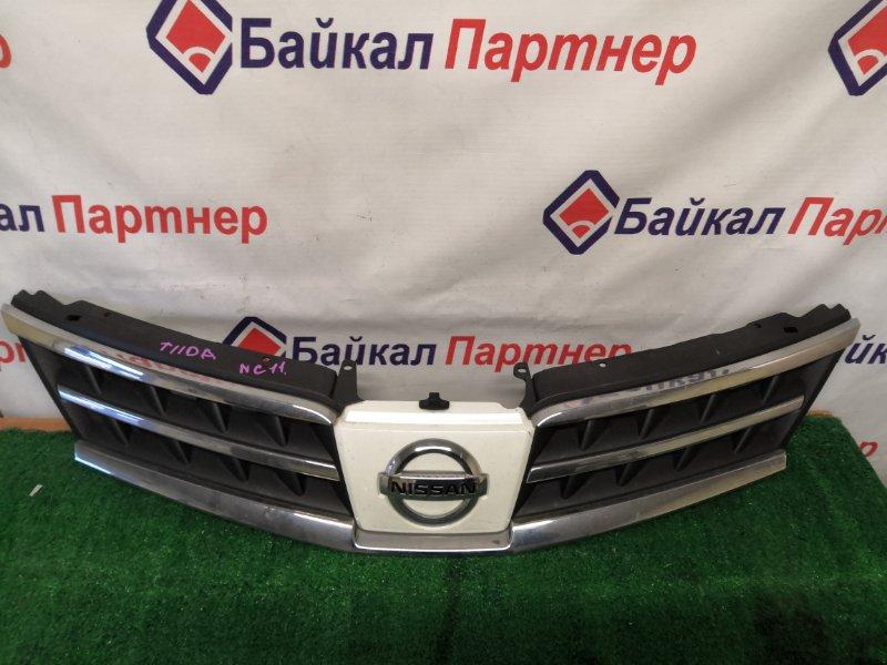 Решетка радиатора Nissan Tiida NC11 2008