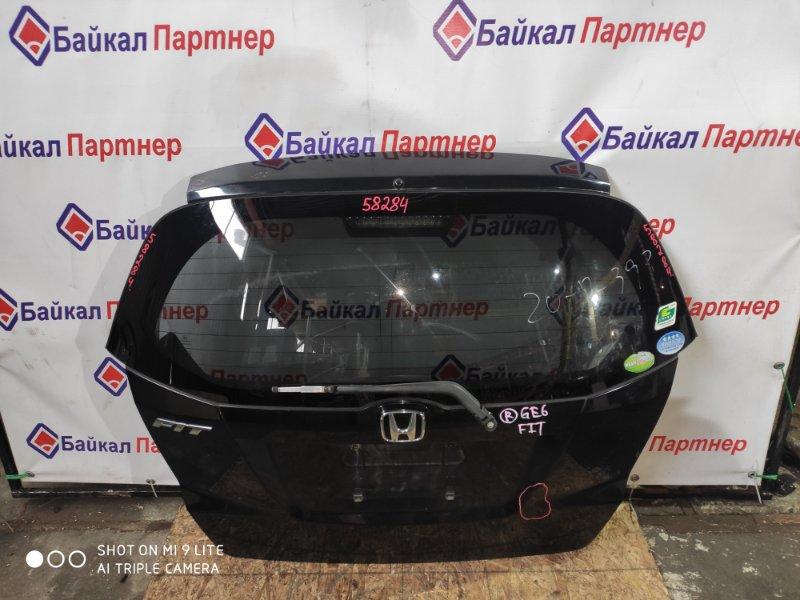 Дверь 5-я Honda Fit GE6 L13A задняя