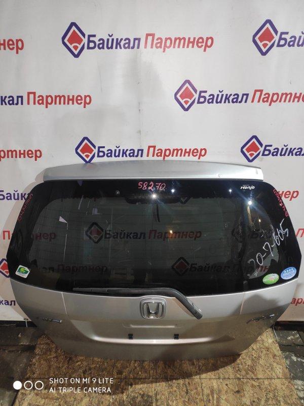 Дверь 5-я Honda Fit GD1 L13A 2005 задняя