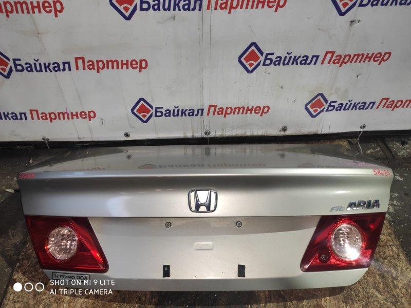 Крышка багажника Honda Fit Aria GD8 L15A 2006 задняя