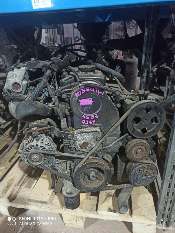 Двигатель Mitsubishi Pajero Io H76W 4G93 2005.03.3