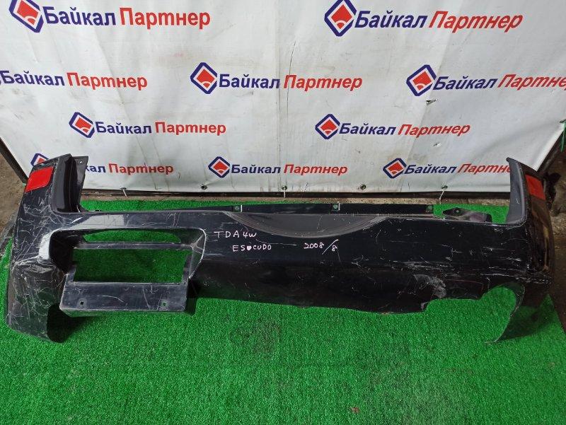 Бампер Suzuki Escudo TDA4W J24B 2008 задний