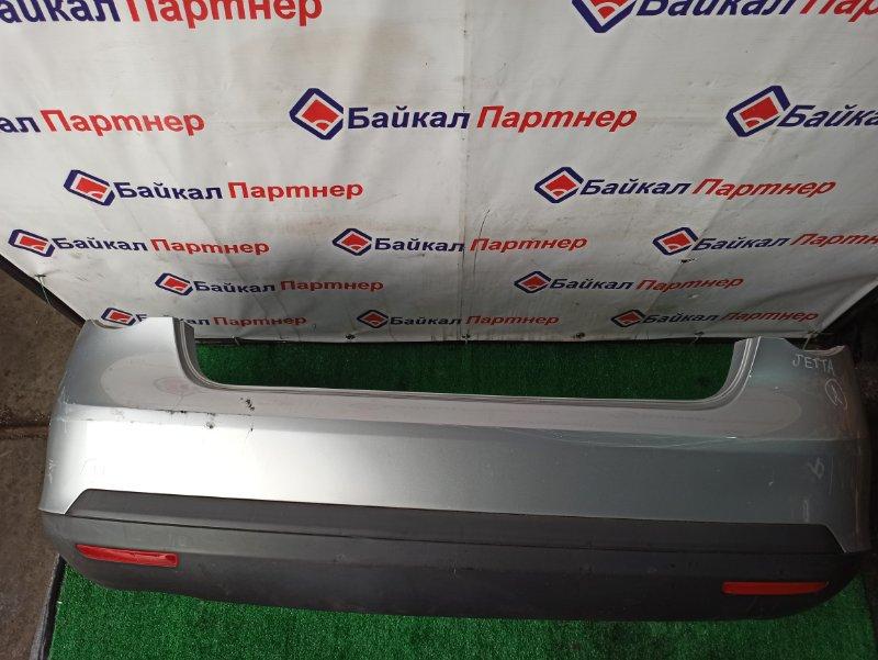 Бампер Volkswagen Jetta 1K2 BVY 2005 задний