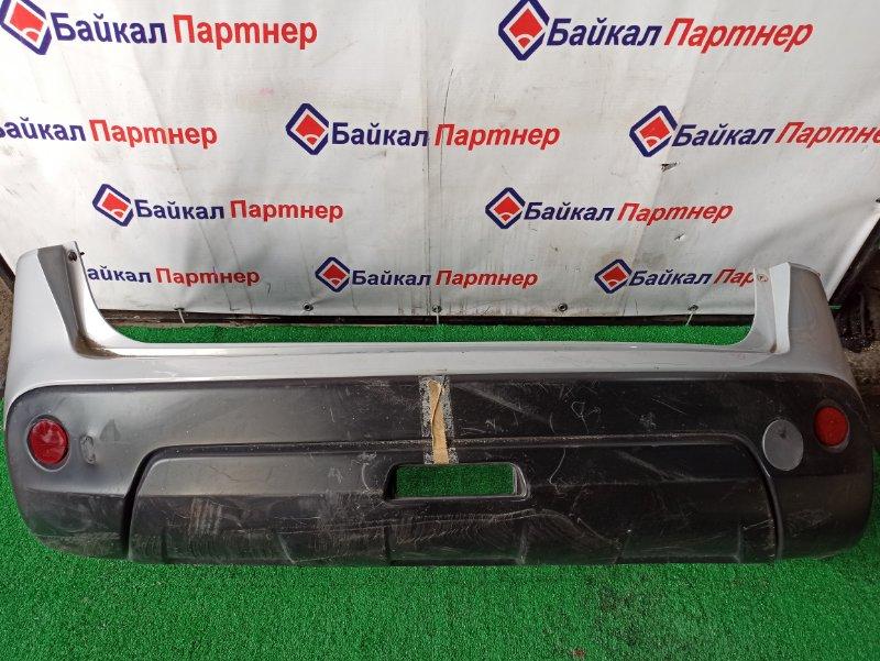 Бампер Nissan Qashqai J10 MR20DE задний