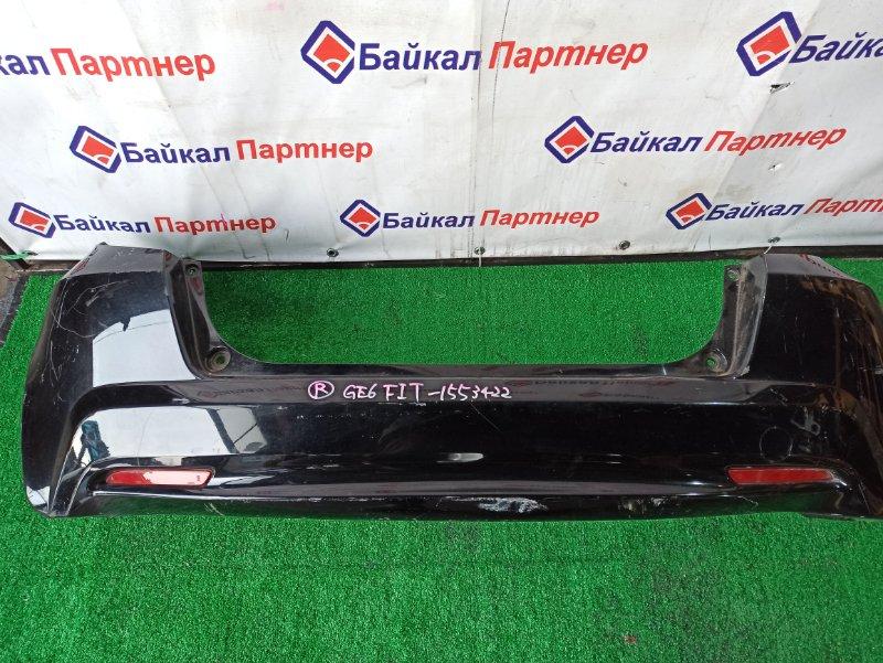 Бампер Honda Fit GE6 L13A задний