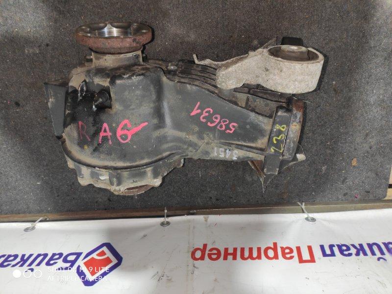 Редуктор Audi A6 4F2 AUK 2005 задний