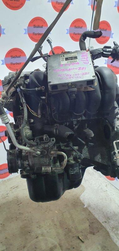 Двигатель Toyota Corolla Spacio ZZE124N 1ZZ-FE 2001.08