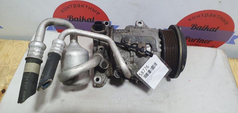 Компрессор кондиционера Toyota Estima ACR55W 2AZ-FE 2006.12