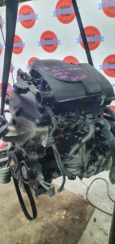 Двигатель Toyota Vitz KSP90 1KR-FE 2008.04