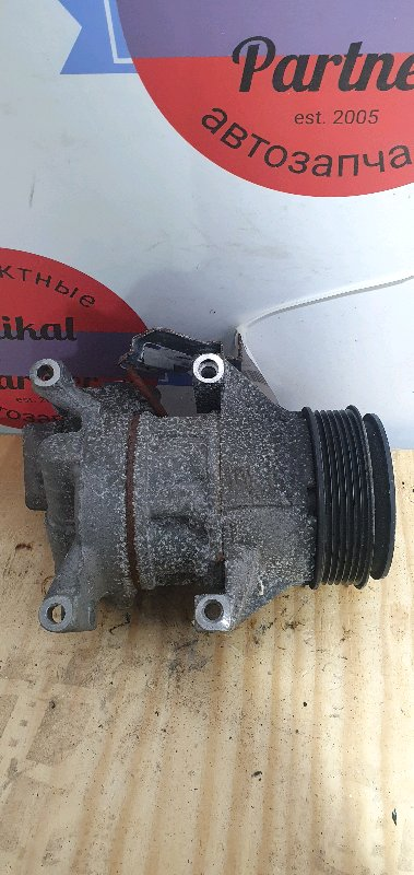 Компрессор кондиционера Toyota Vitz KSP90 1KR-FE 2008.04