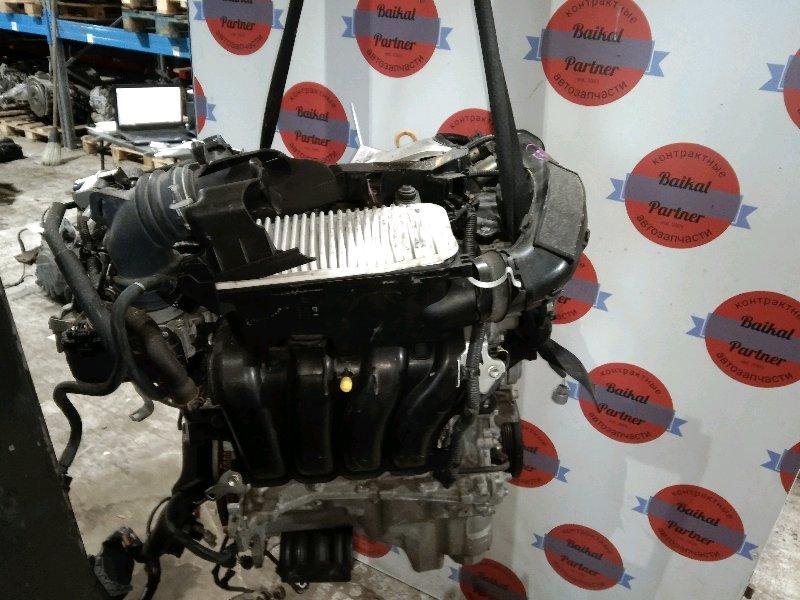 Двигатель Toyota Ractis NCP120 1NR-FE 2012.03