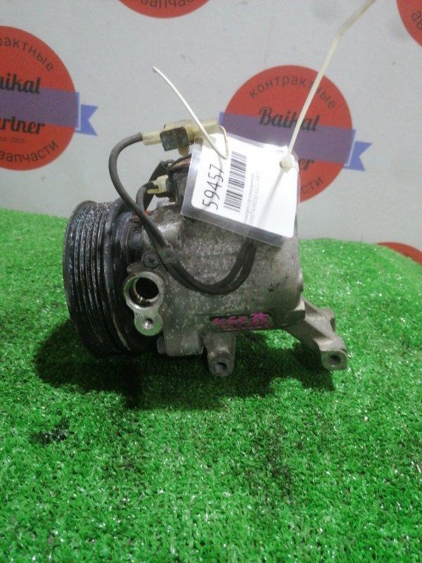 Компрессор кондиционера Toyota Passo KGC35 1KR-FE