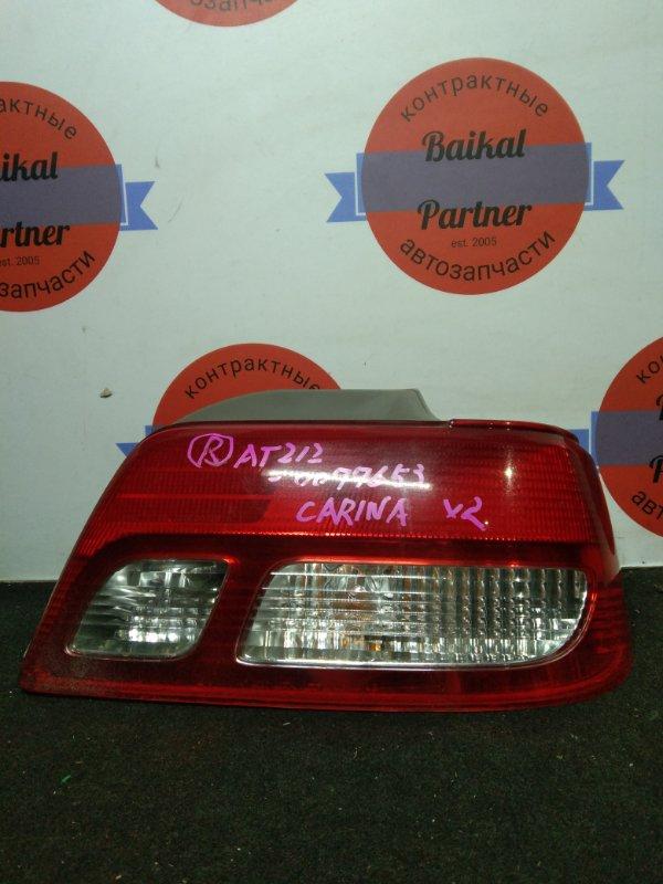 Стоп Toyota Carina AT212 5A-FE задний правый 53-12401