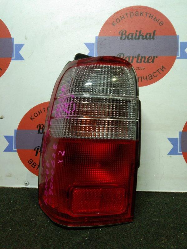 Стоп Toyota Hilux Surf KZN185W 1KZ-TE 1996.10 задний левый 35-62