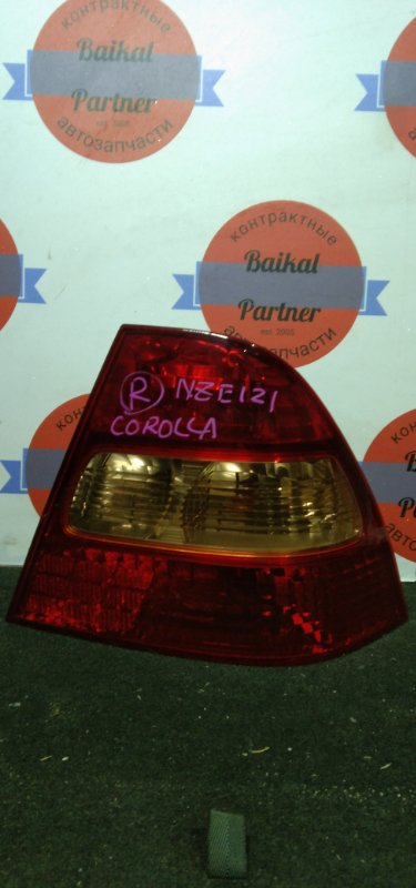 Стоп Toyota Corolla NZE121 задний правый