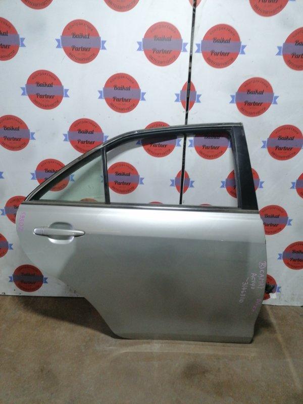 Дверь Toyota Camry ACV40 2AZ-FE задняя правая