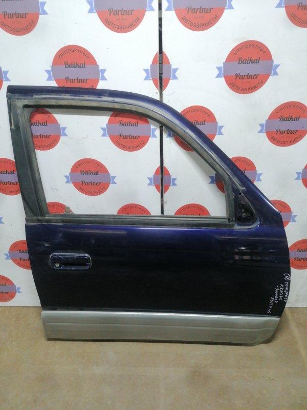 Дверь Toyota Hilux Surf KZN185W 1KZ-TE 10.1996 передняя правая